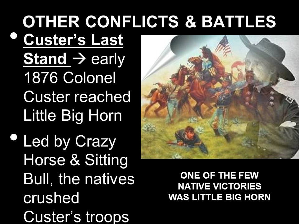 OTHER CONFLICTS & BATTLES