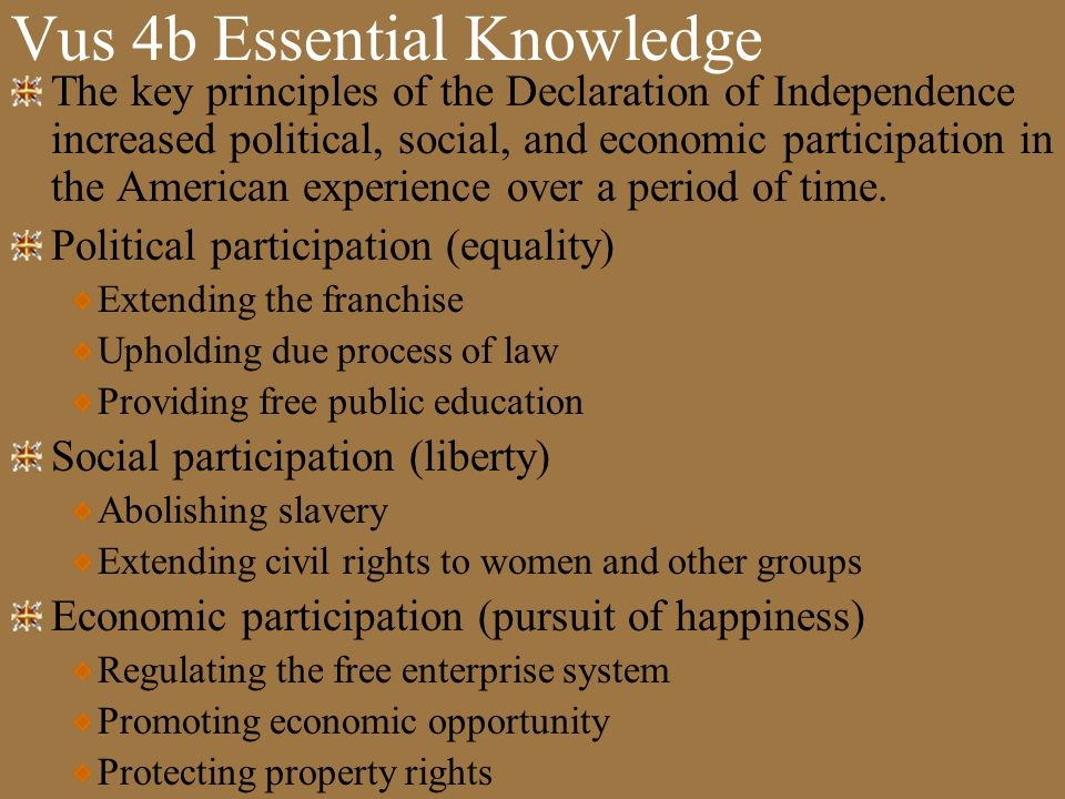 Vus 4b Essential Knowledge