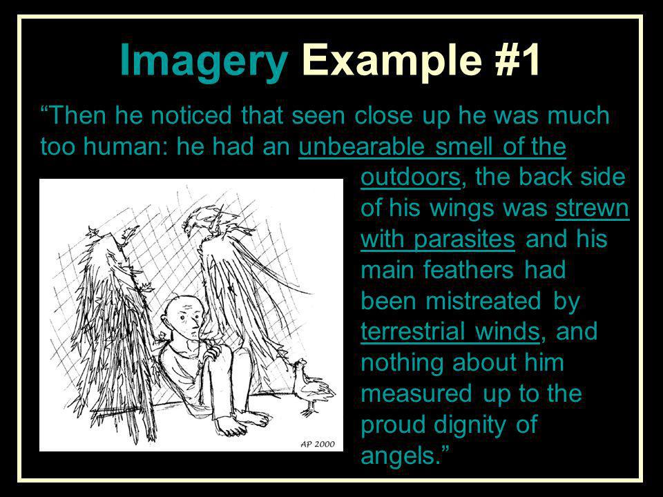 an argument if a very old man with enormous wings is a tale for children or not A very old man with enormous wings is subtitled a tale for children due to its ideas of mythological themes of angels or men with wings, and also a lady with the body of a spider.