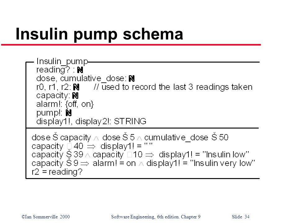 Insulin pump schema