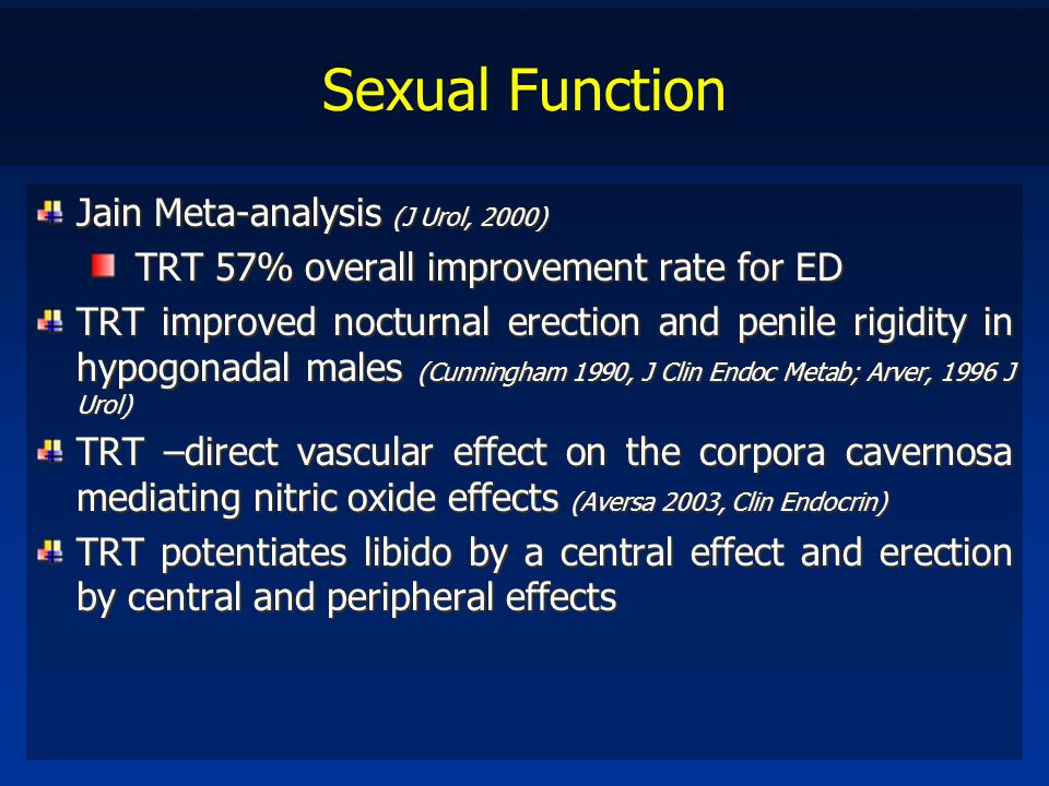Sexual Function Jain Meta-analysis (J Urol, 2000)