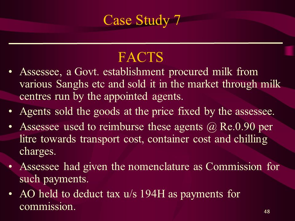 Case Study 7 FACTS