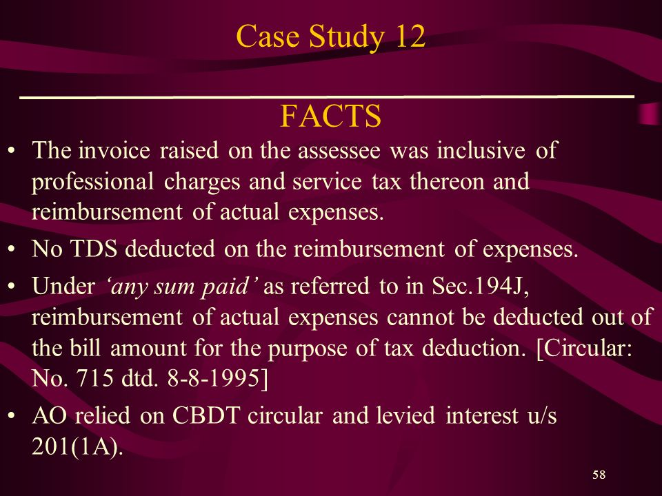 Case Study 12 FACTS