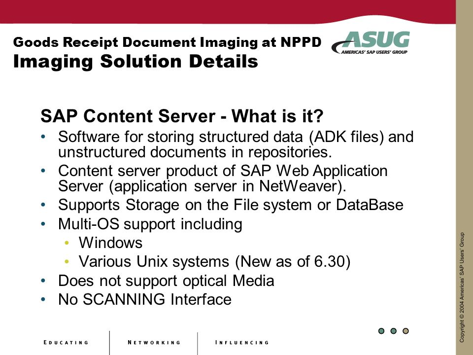 SAP Content Server - What is it