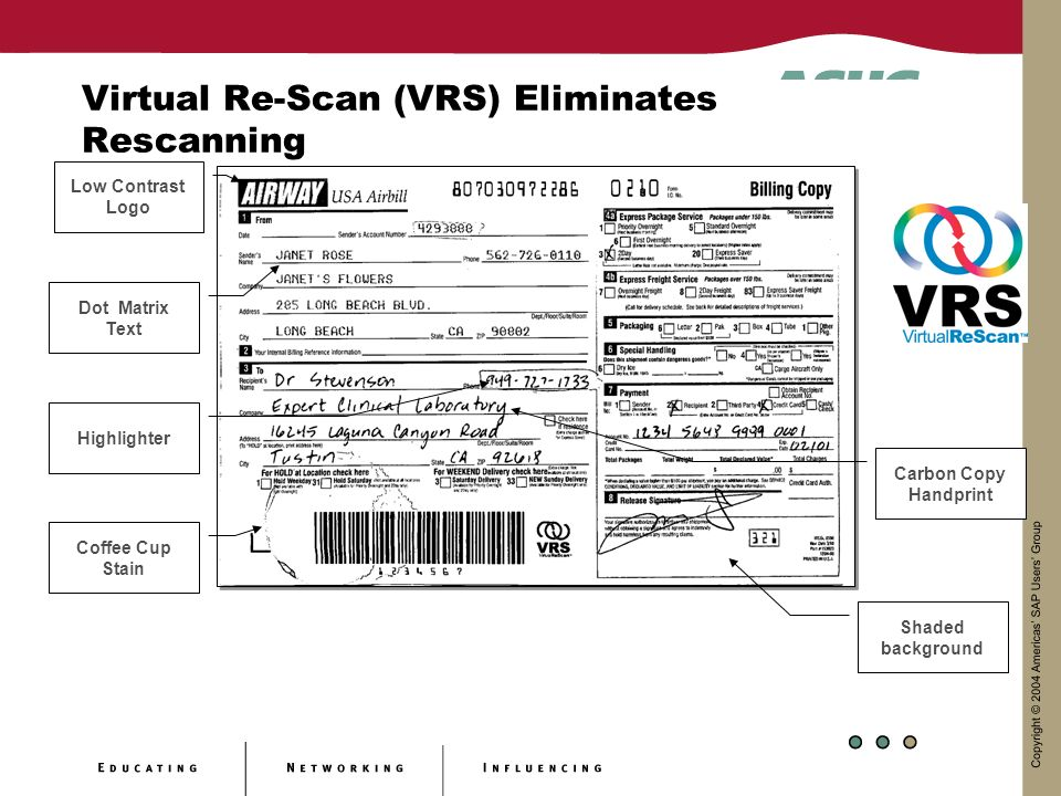 Virtual Re-Scan (VRS) Eliminates Rescanning