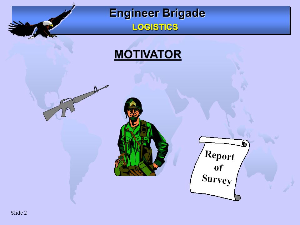 MOTIVATOR Motivator. Have you ever been involved with a case of a lost weapon or sensitive item Remember the fallout.