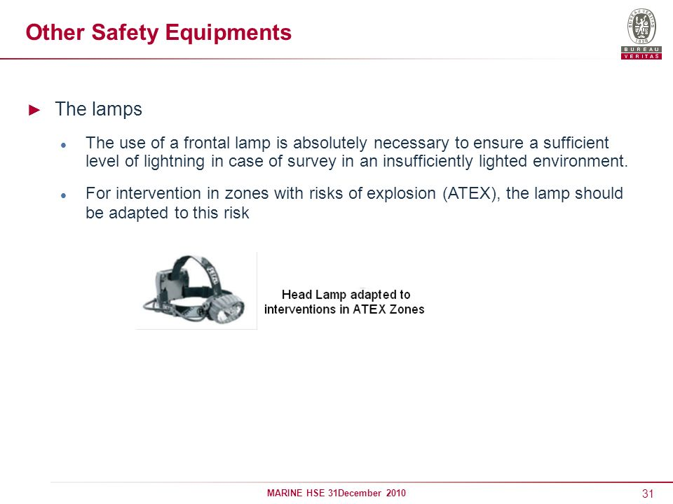 Other Safety Equipments