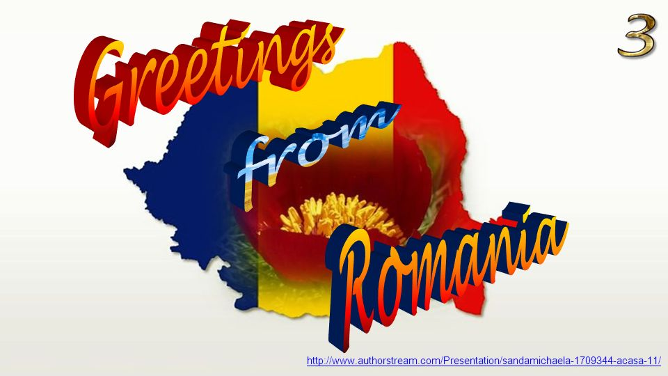 Greetings from romania ppt download greetings from romania m4hsunfo