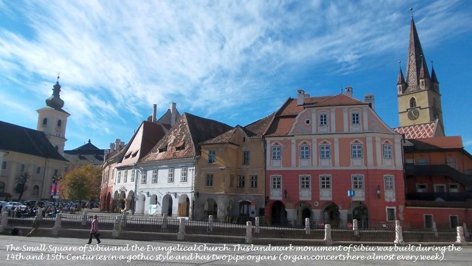 the Small Square of Sibiu and The Art House - Emil Sigerus Museum of Sibiu
