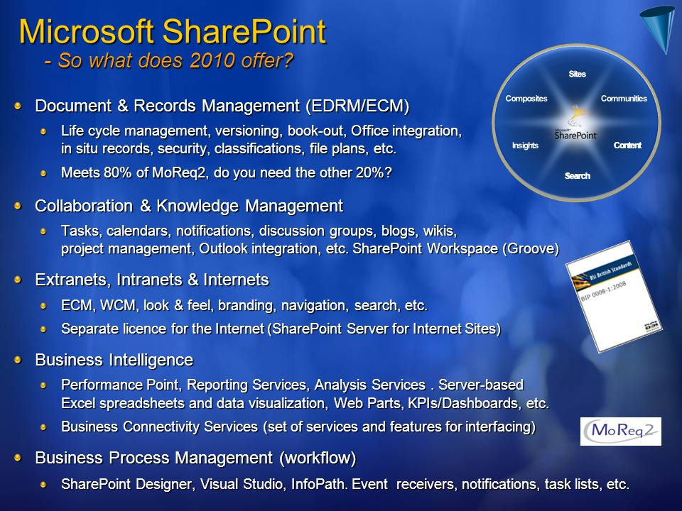 Microsoft SharePoint - So what does 2010 offer