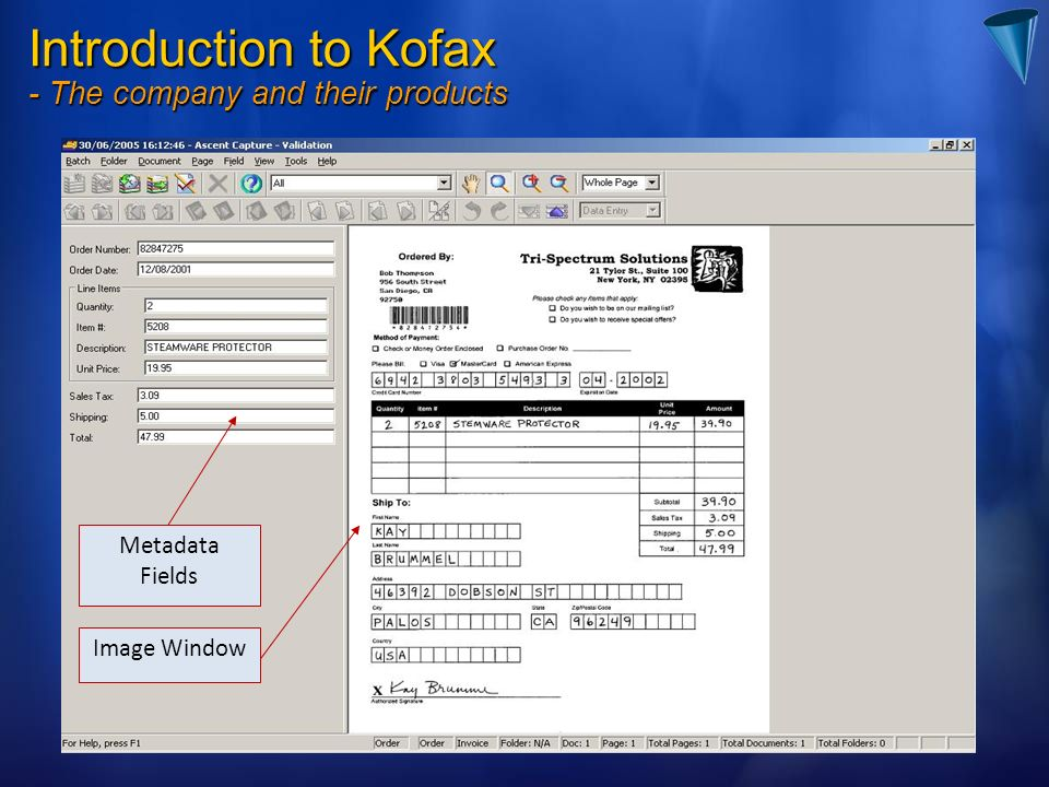 Introduction to Kofax - The company and their products