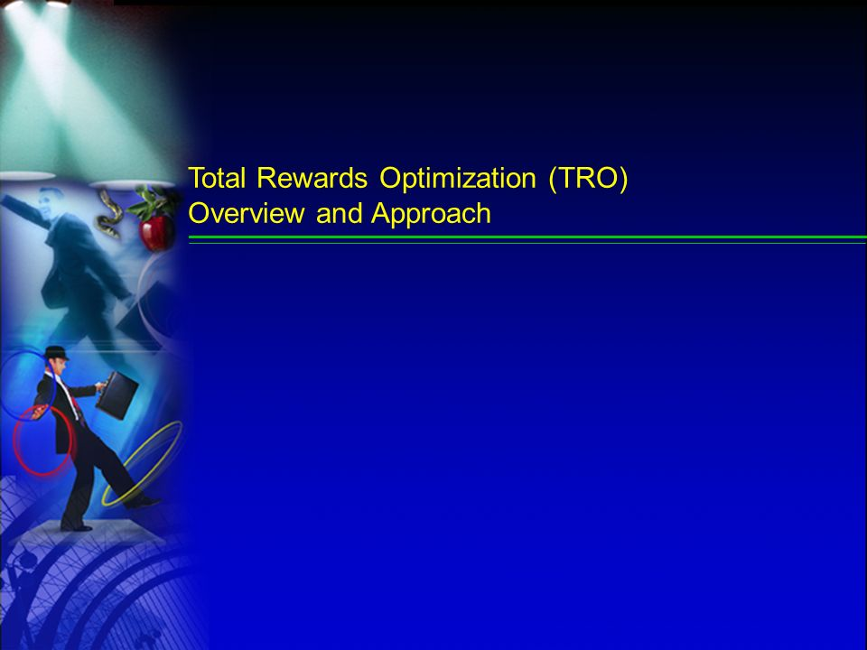 Total Rewards Optimization (TRO) Overview and Approach