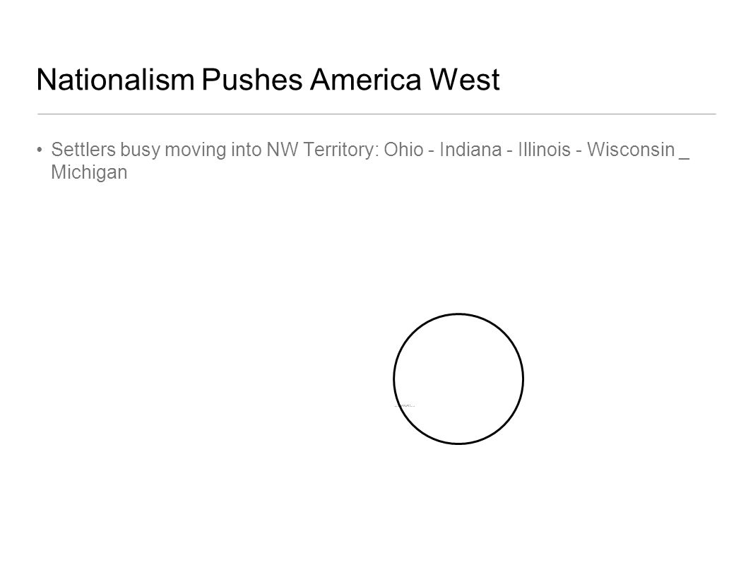 Nationalism Pushes America West