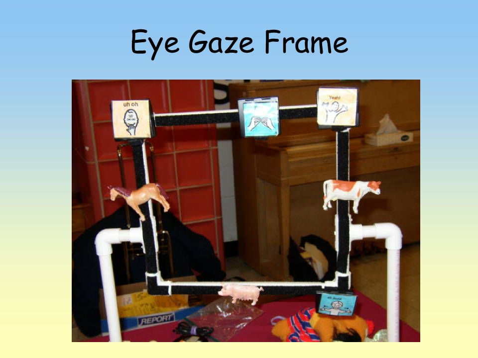 Eye Gaze Frame