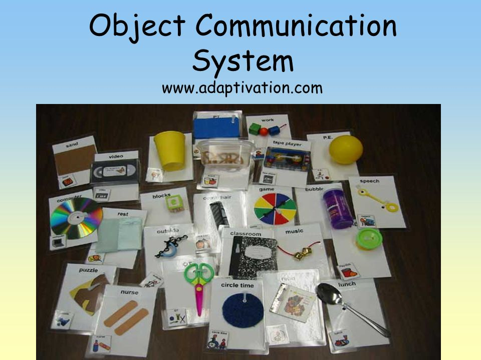 Object Communication System www.adaptivation.com