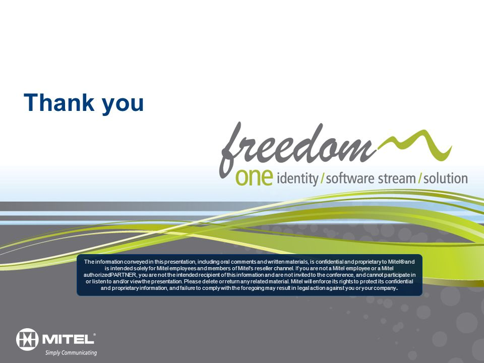 Thank you Thank you Mitel and VMware 3/25/ _8465