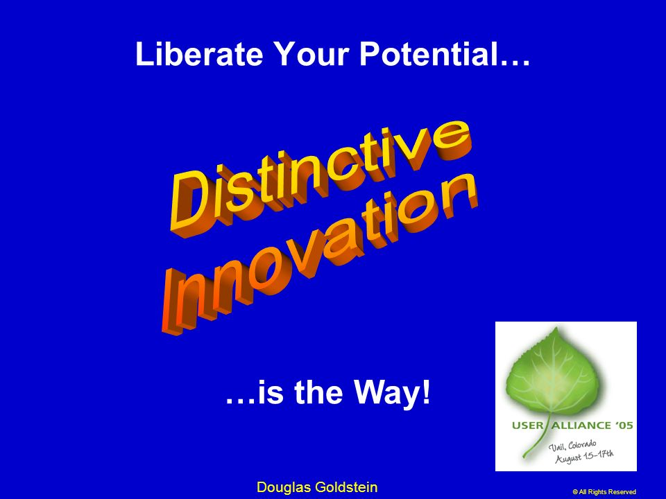 Liberate Your Potential…