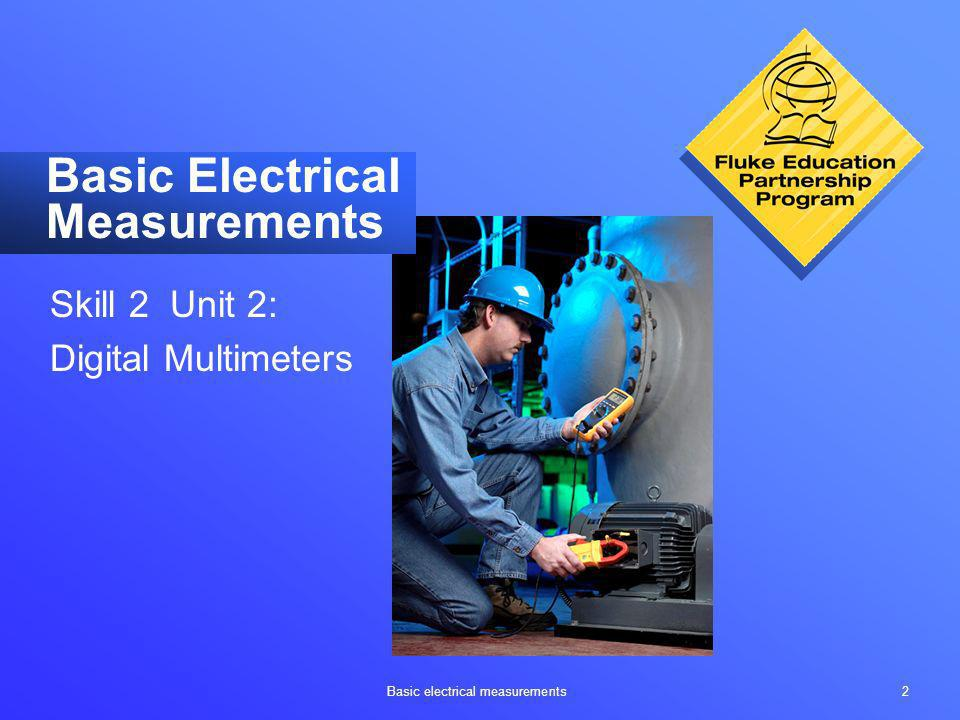Basic Electrical Measurements