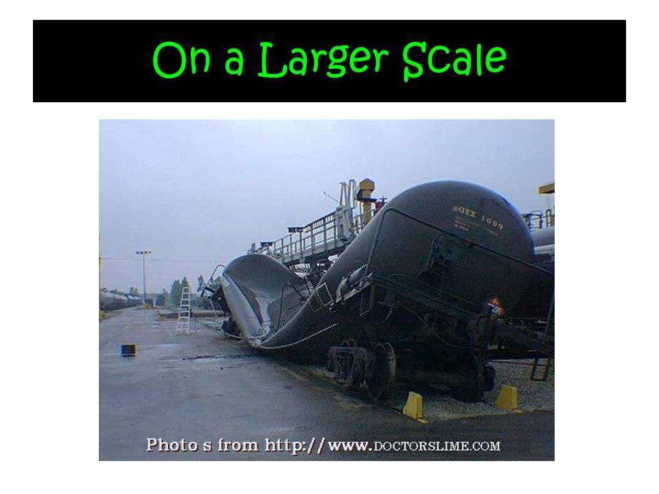 On a Larger Scale