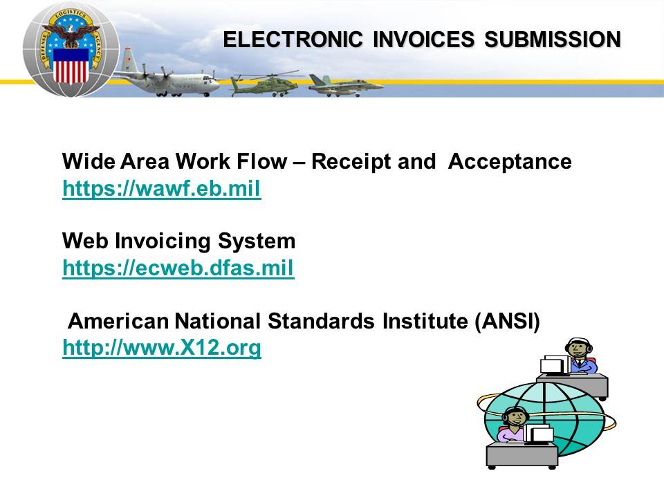 Auto IDPOs ELECTRONIC INVOICES SUBMISSION