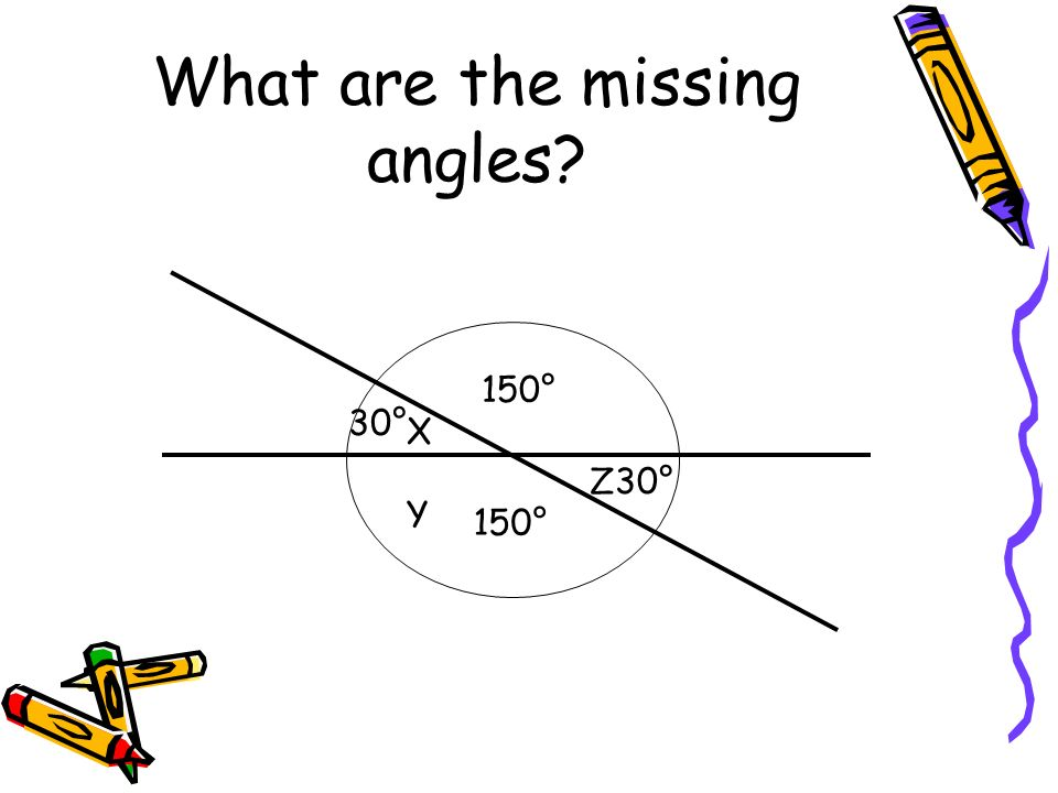 What are the missing angles