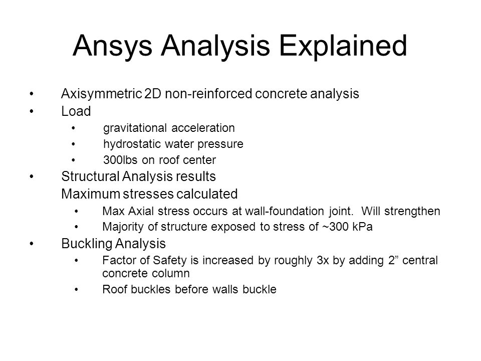Ansys Analysis Explained