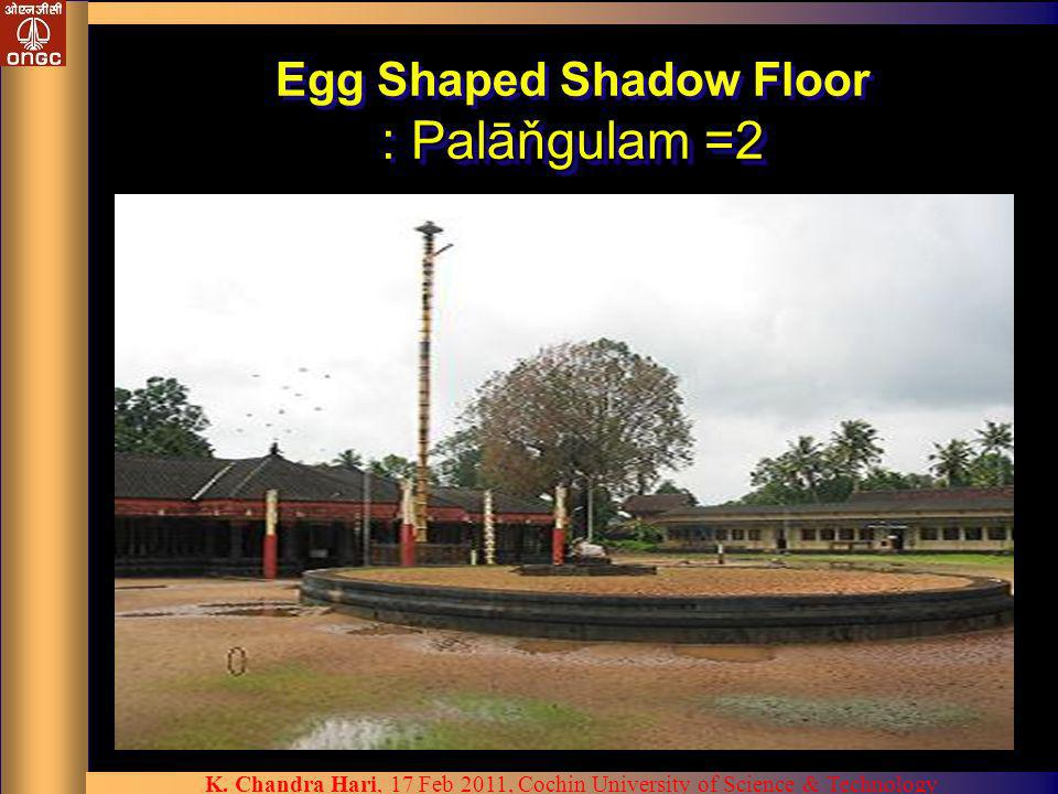 Egg Shaped Shadow Floor : Palāňgulam =2