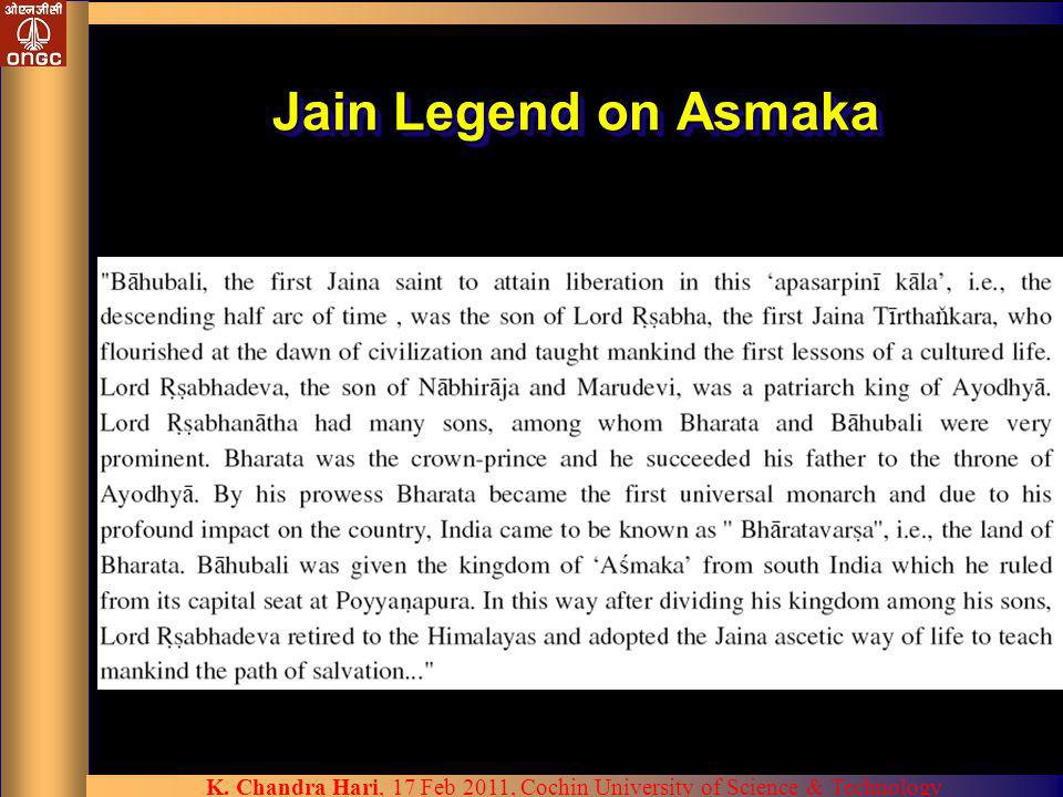 Jain Legend on Asmaka