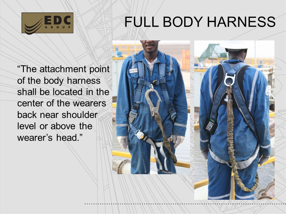 FULL+BODY+HARNESS working at heights fall protection ppt video online download