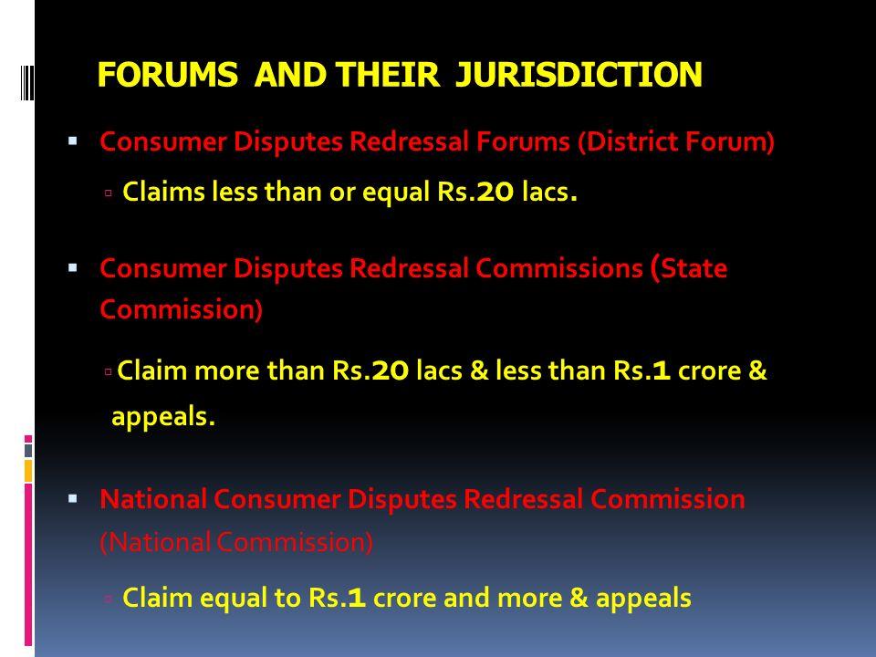 national consumer redressal forum