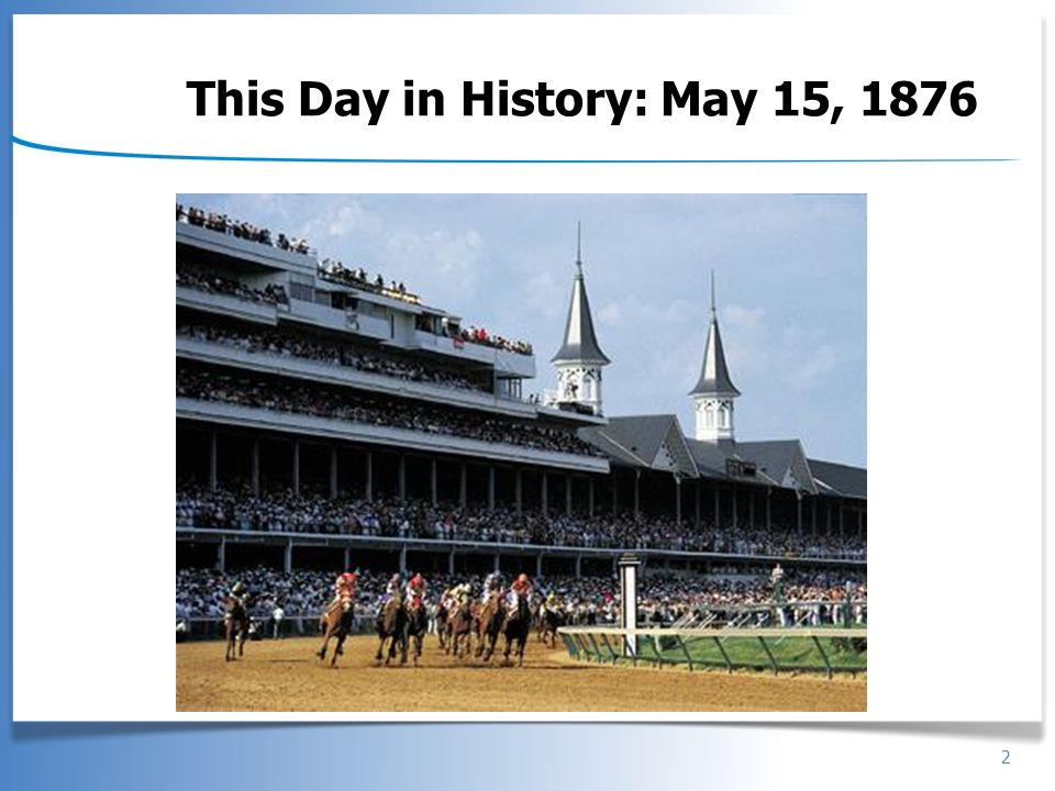 This Day in History: May 15, 1876