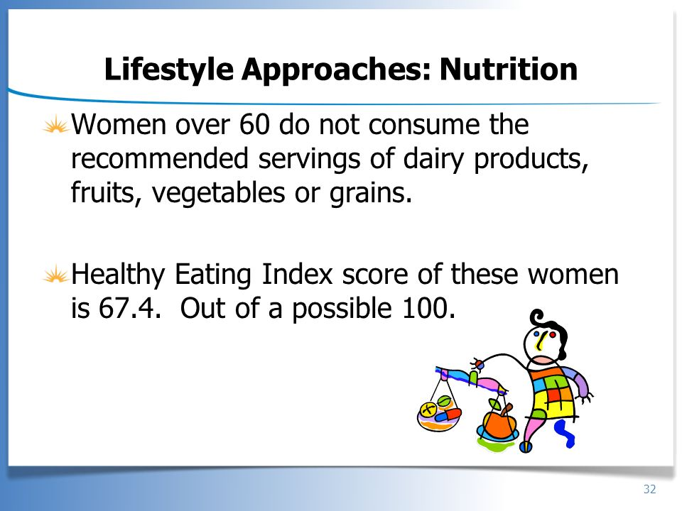 Lifestyle Approaches: Nutrition