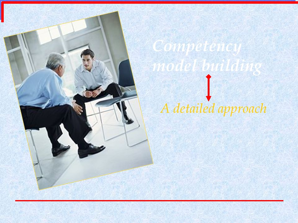 Competency model building