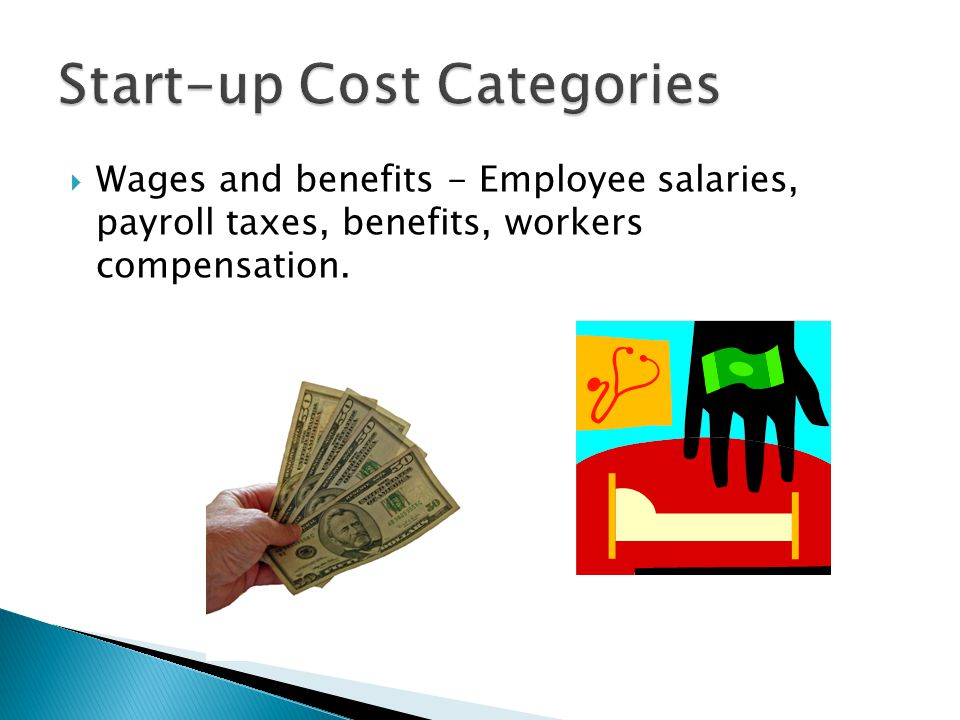 Start-up Cost Categories
