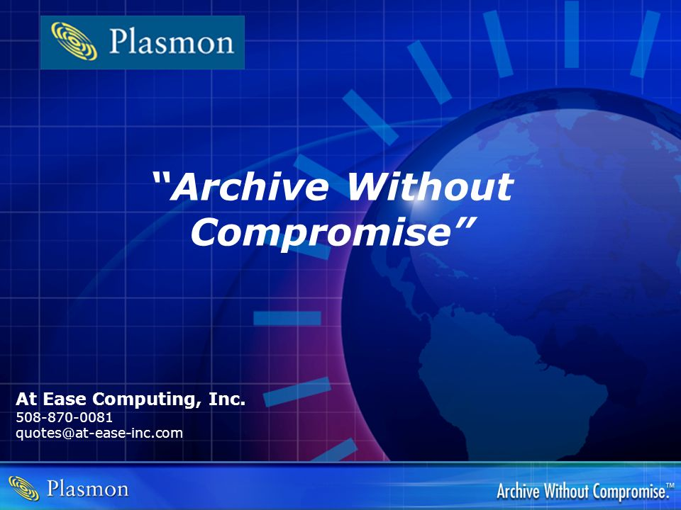 Archive Without Compromise