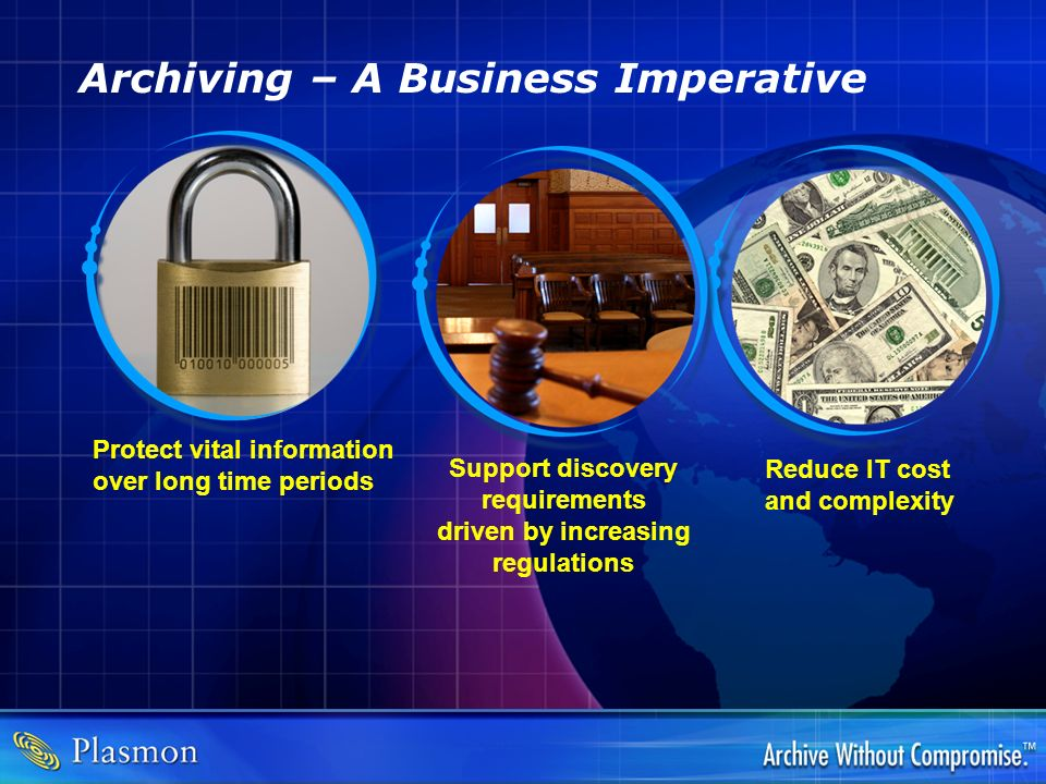 Archiving – A Business Imperative