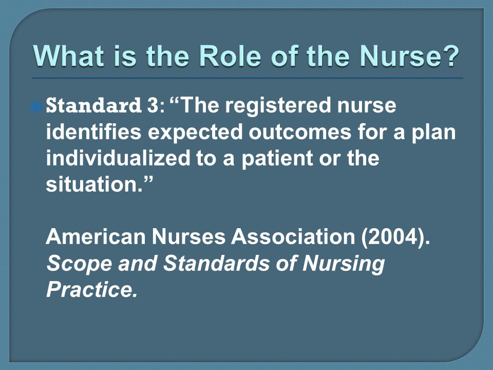 What is the Role of the Nurse