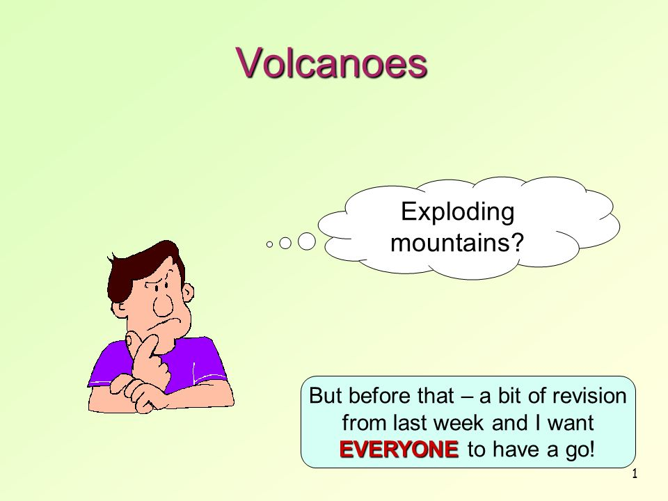 Volcanoes Exploding mountains