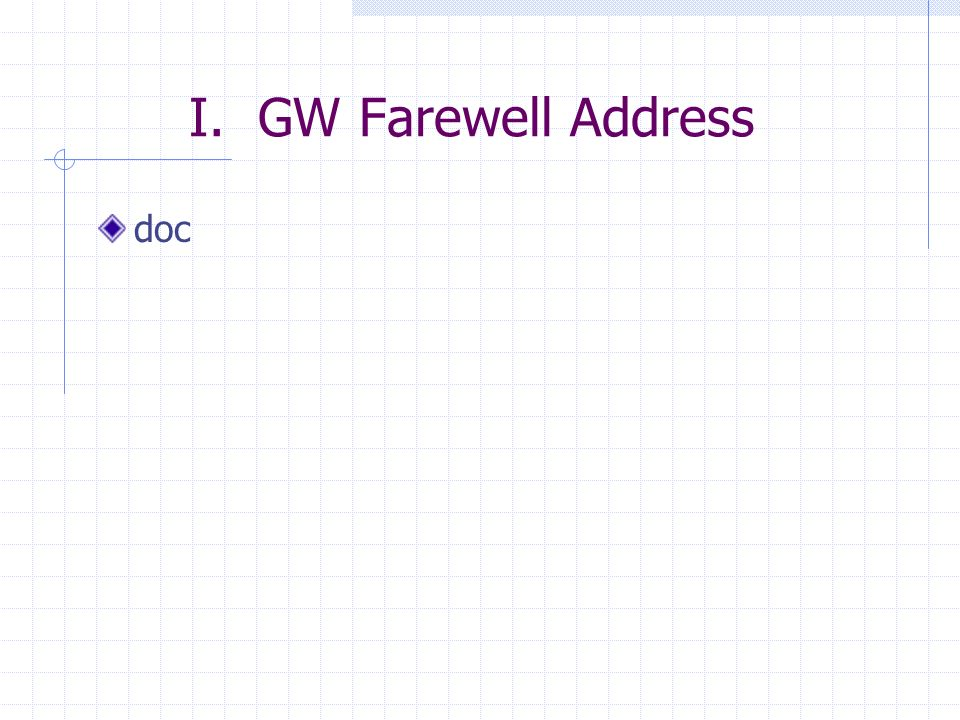 I. GW Farewell Address doc
