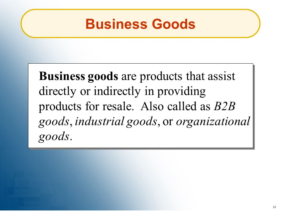 Business Goods