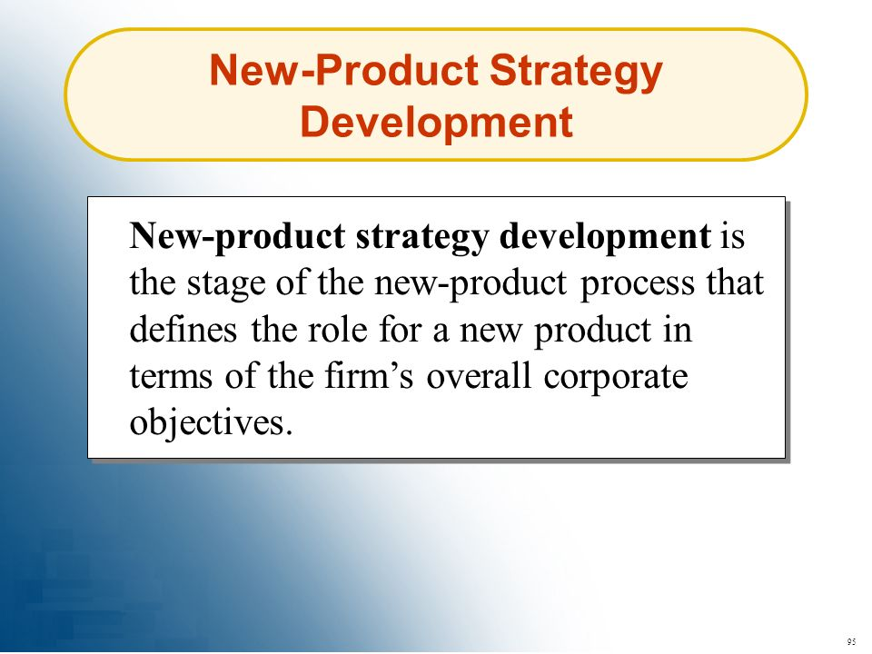 New-Product Strategy Development