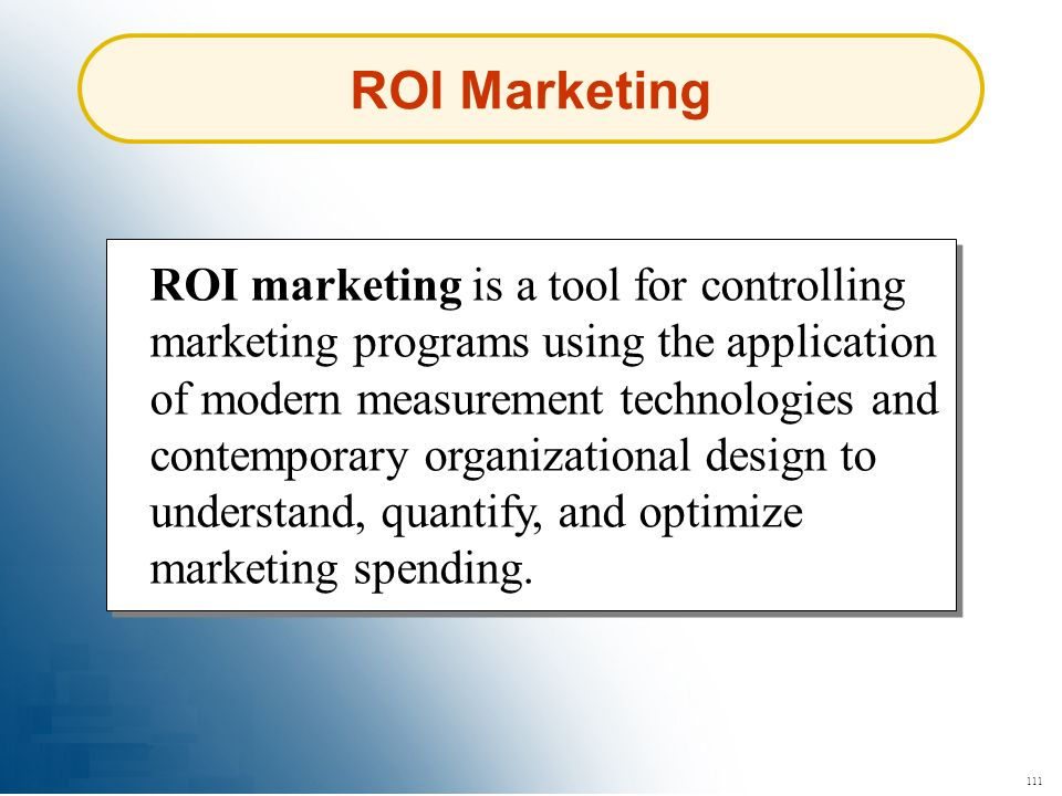 ROI Marketing