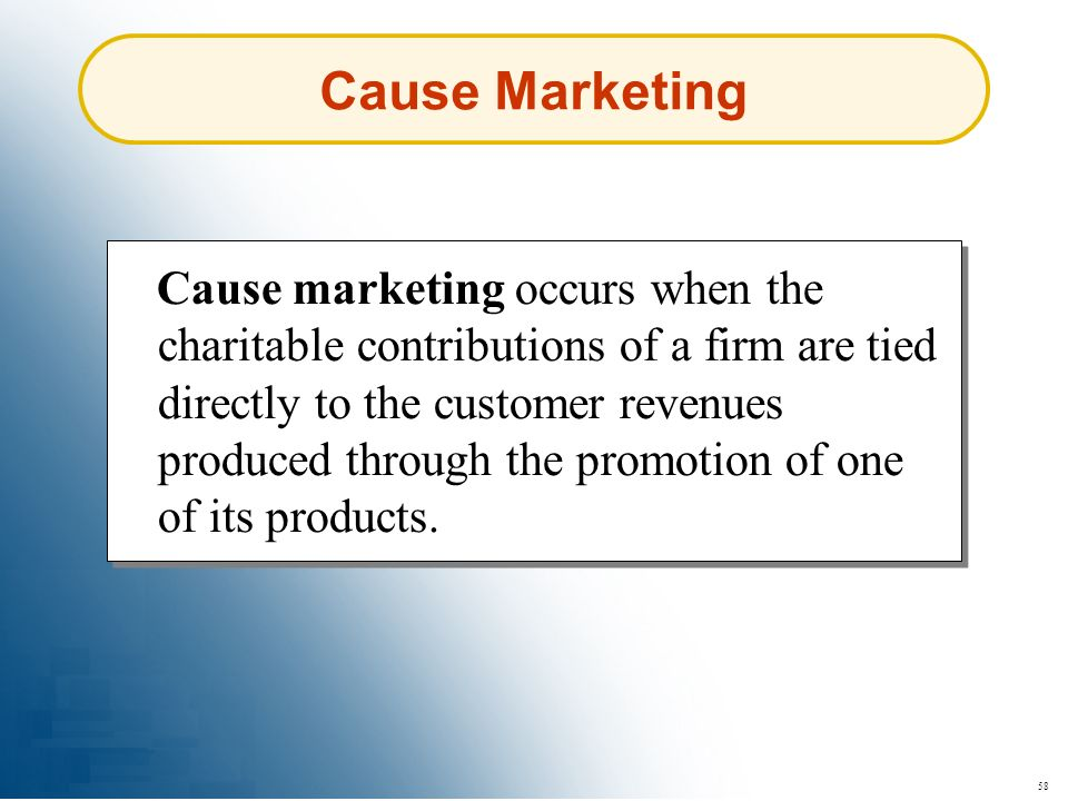 Cause Marketing