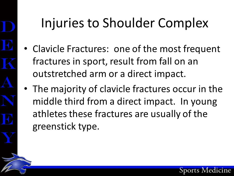 Injuries to Shoulder Complex