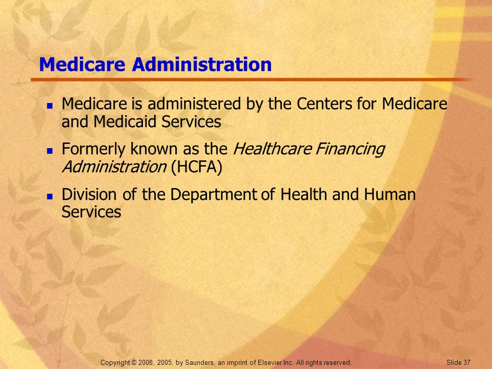Medicare Administration