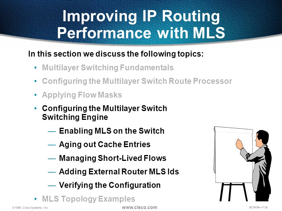 Improving IP Routing Performance with MLS