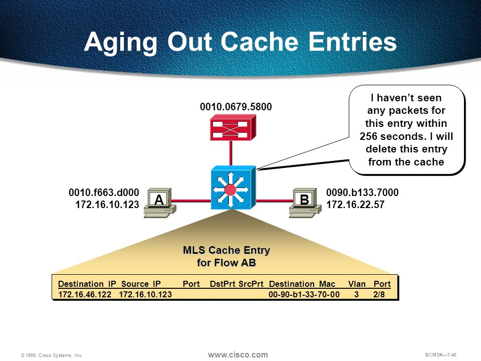 Aging Out Cache Entries