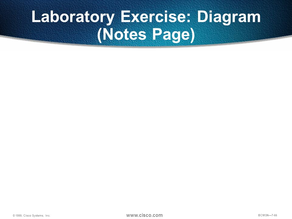 Laboratory Exercise: Diagram (Notes Page)
