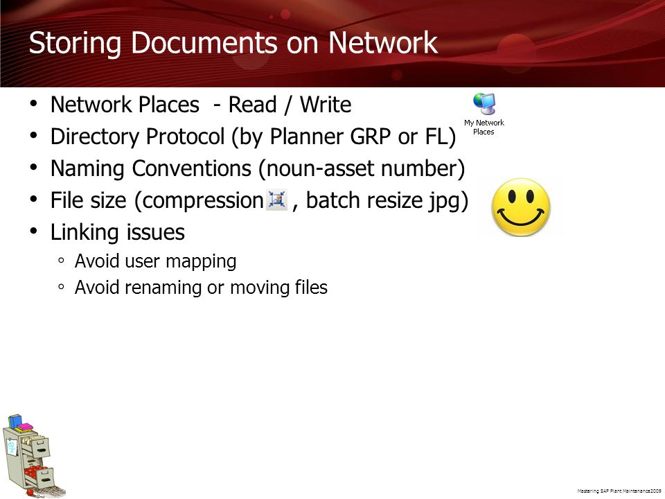 Storing Documents on Network