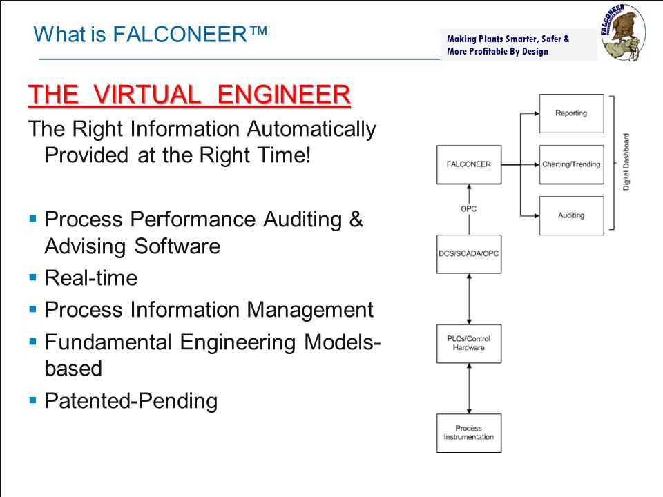 THE VIRTUAL ENGINEER What is FALCONEER™